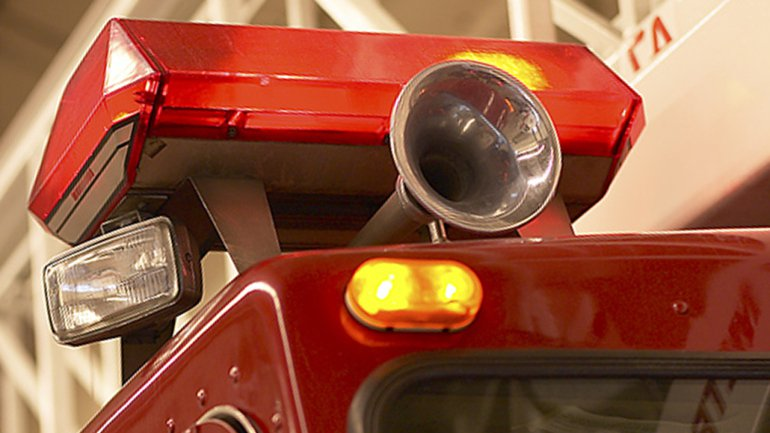Firetruck crash severely injures two firefighters