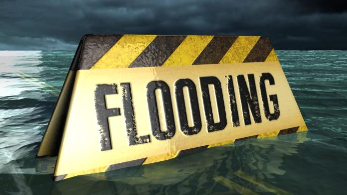 65 Highway threatened by flood waters in Carroll County