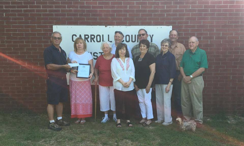 Carroll County Historical Museum receives grant from MFA