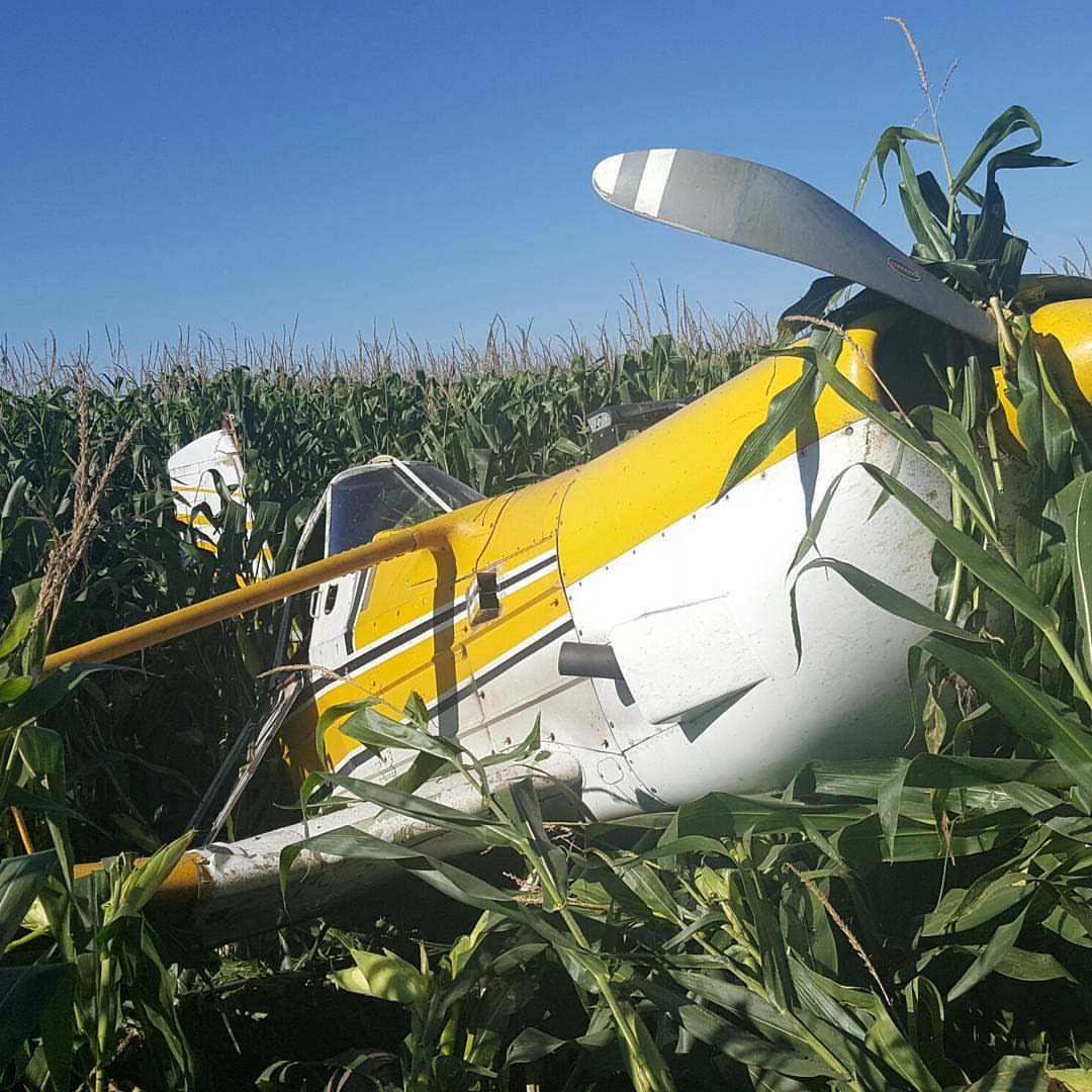Crop duster plane crash reported in Marshall near Area 51 Cuztomz