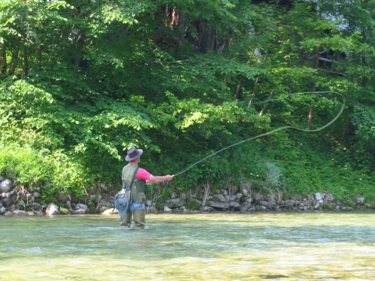 NEWSMAKER — Reel nature in with fly fishing