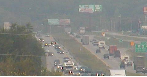 Labor Day wreck backs up eastbound 70 in Jackson County