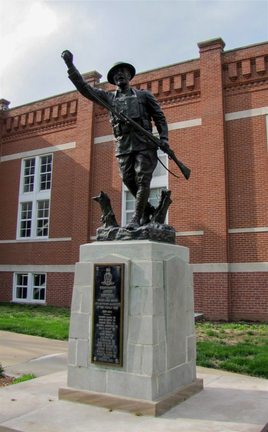 A hearing is set to take place in Lafayette County over Wentworth's WWI 'Doughboy' statue