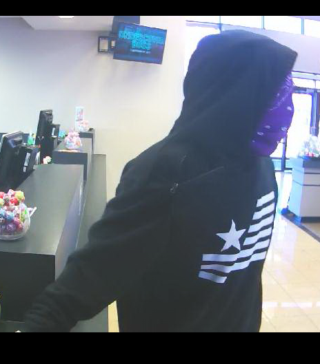 Authorities seek unidentified suspect in attempted bank robbery