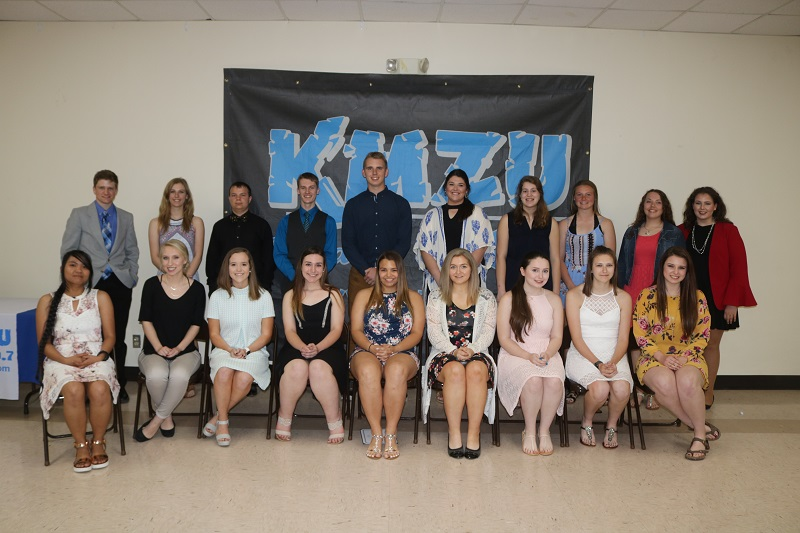 NEWSMAKER — KMZU honors area scholars at 27th Annual Academic Awards Banquet