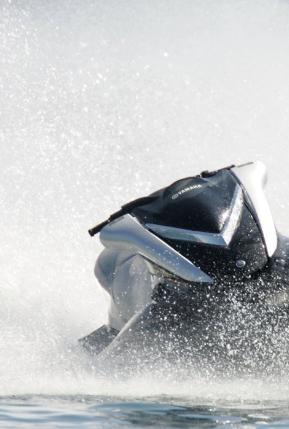 Jet ski mishap throws passenger causing injury