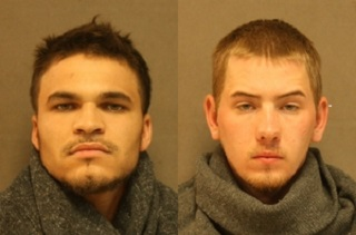 Two men in custody after woman bound, set ablaze in Johnson County