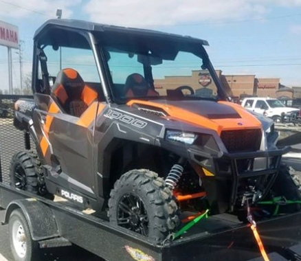 Stolen UTV reported out of Chillicothe