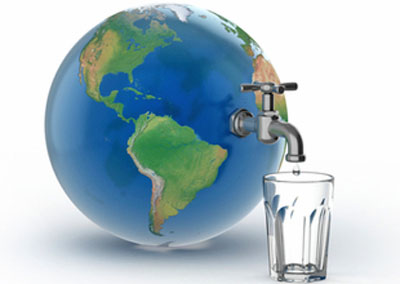 NEWSMAKER — Imagine a day without water