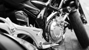 Motorcyclist hospitalized after crash in Johnson County