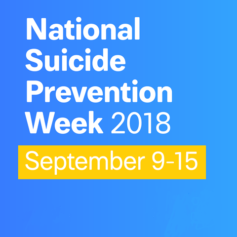 NEWSMAKER — Fight the mental health treatment stigma during National Suicide Prevention Week