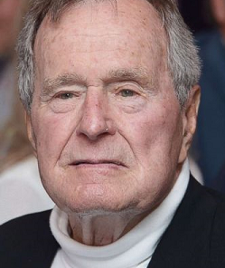 Former President George H. W. Bush has died.