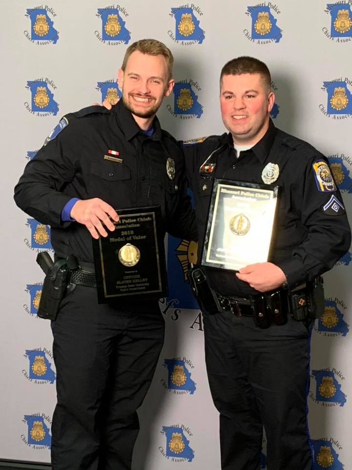 Kirksville officers receive medals of valor