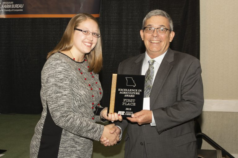 Conover Wins Young Farmer Excellence in Agriculture Award