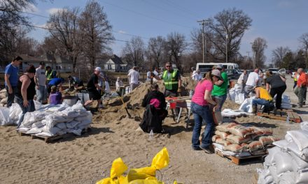 Norborne community working non-stop to prevent flooding