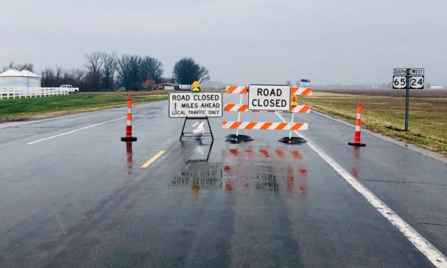 Highway 10 and US 65 still closed in Carroll County, no timetable for reopening
