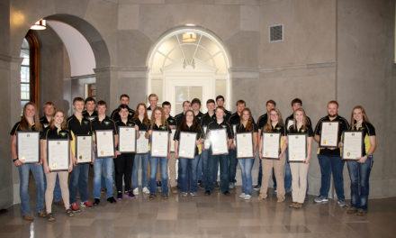 State Senators recognize National 4-H shooting sports champions