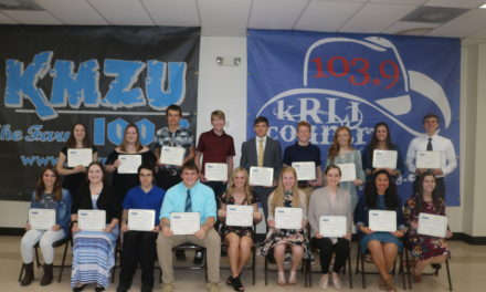 Area scholars honored at 28th Annual KMZU Academic Dream Team Awards Banquet