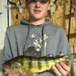 Young angler from Huntsville reels in state-record Yellow Perch