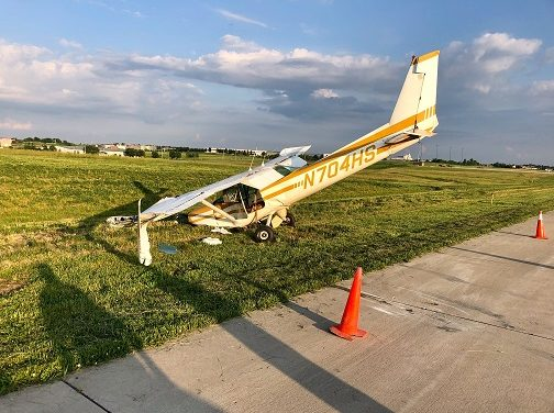 Plane crashes at Lee's Summit Airport