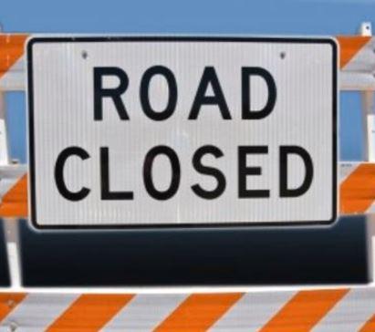 Route E west of Carrollton closed