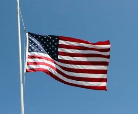 Flags ordered at half-staff for fallen officer