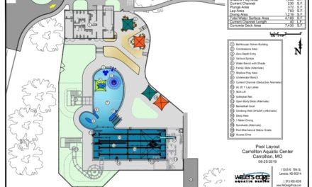 Further progress made on new Carrollton city pool