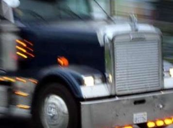 Trenton truck driver injured in rollover