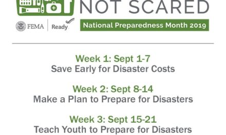National Preparedness Month is officially underway