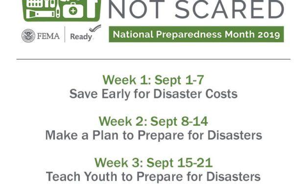 National Preparedness Month is officially underway