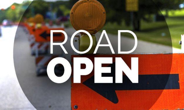Route 10 now open near Carrollton