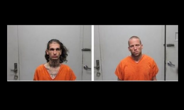 Two in custody after chase through multiple counties Monday
