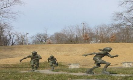 Northwest Missouri sculpture exhibit skates past vandalism and continues iconic semblance of regional art-culture