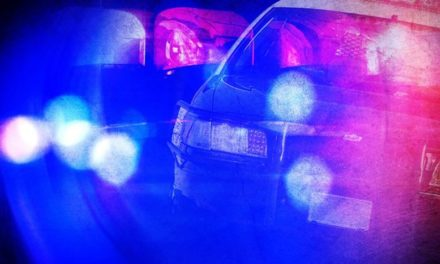Vehicle reported stolen involved in pursuit, crash