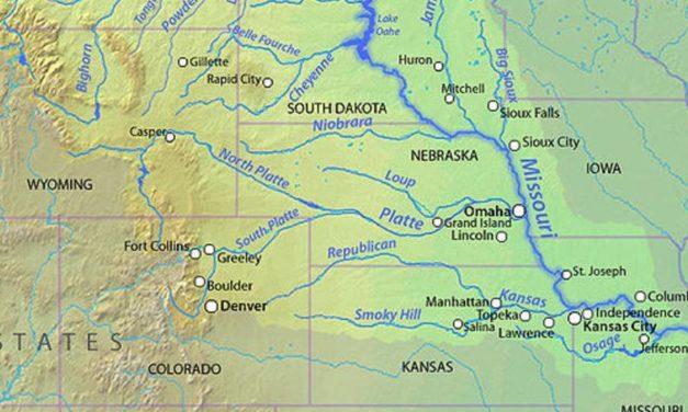 Missouri River runoff this year may tie record