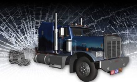 Tractor trailer accident near Higginsville, possible injuries