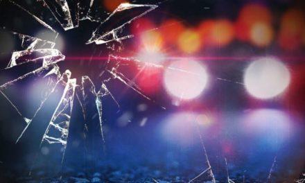 Injury crash involves collision with fiber optics post