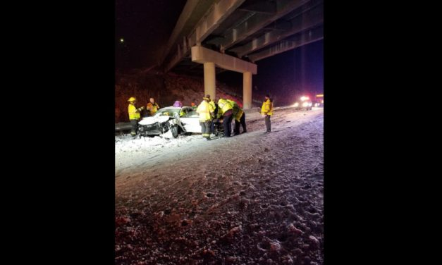 UPDATE: Portion of southbound I-35 now open following injury accident