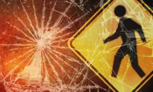 LaMonte man hit in street by vehicle, driver arrested