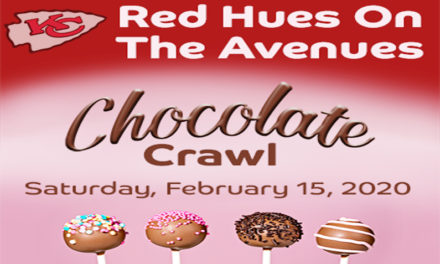 Valentine's weekend RED Hues on The Avenues – Chocolate Crawl