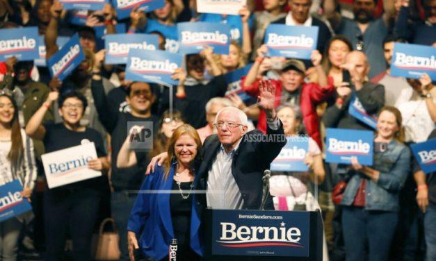 Sanders wins big in Nevada's presidential caucuses