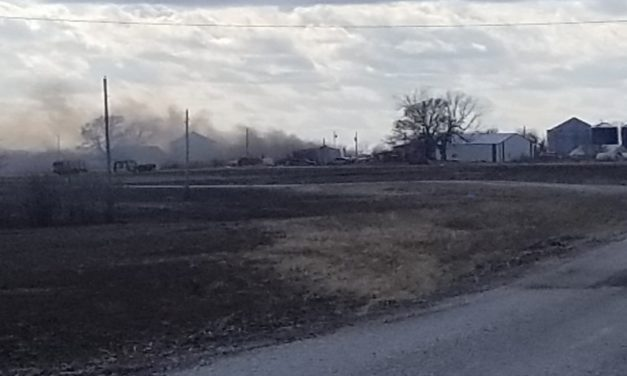 Breaking: Reports of a machine shop on fire in Norborne