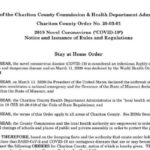 Chariton County imposes stay-at-home order