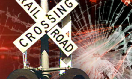 Car hit by train in Lafayette County