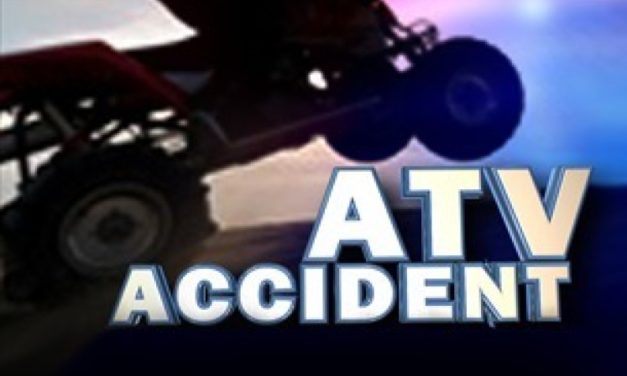 ATV crash leaves elderly man with critical injuries