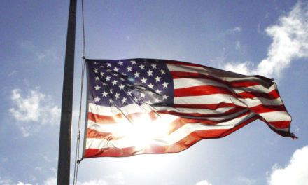 U.S. President orders flags to be flown at half-staff