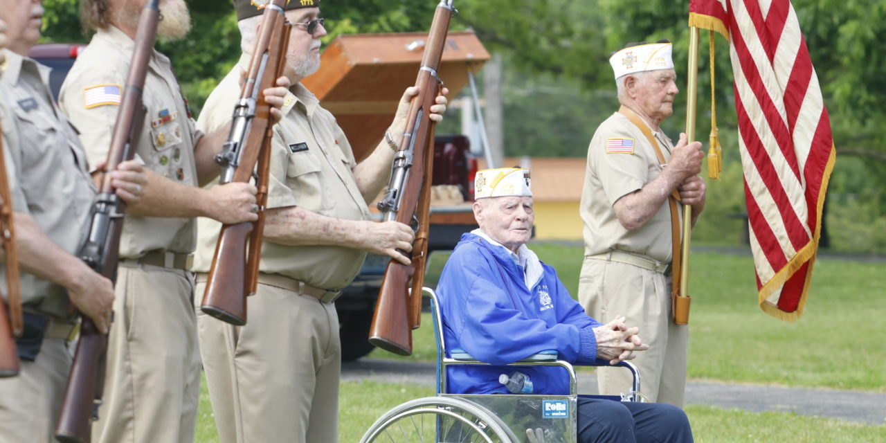 Covid-19 might've change the location, but VFW 1773 honors veterans this Memorial Day