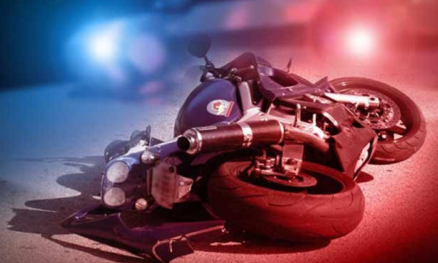 Motorcycle rider from Georgia injured in Johnson County crash.