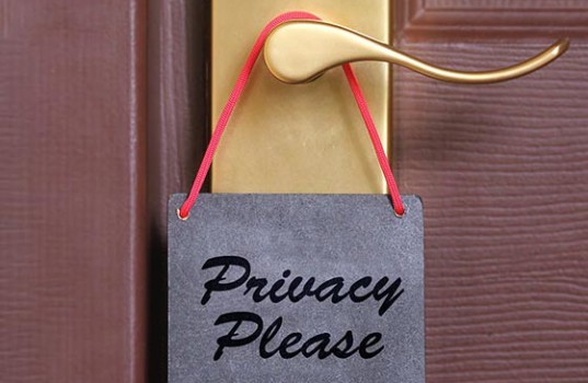personalization & privacy the line.