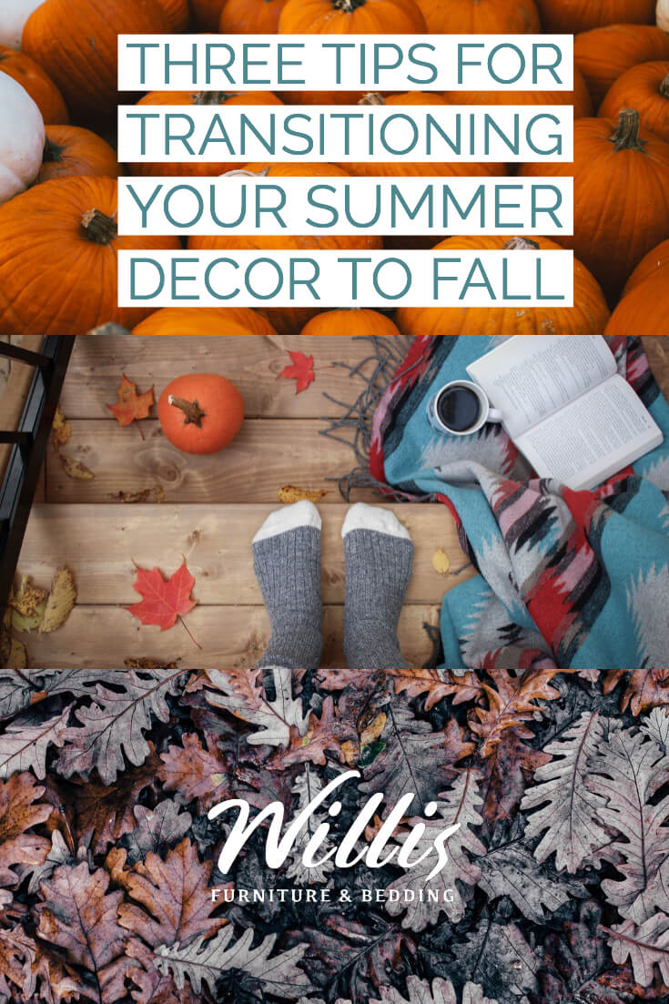 Three Tips for Transitioning your Summer D�cor to Fall